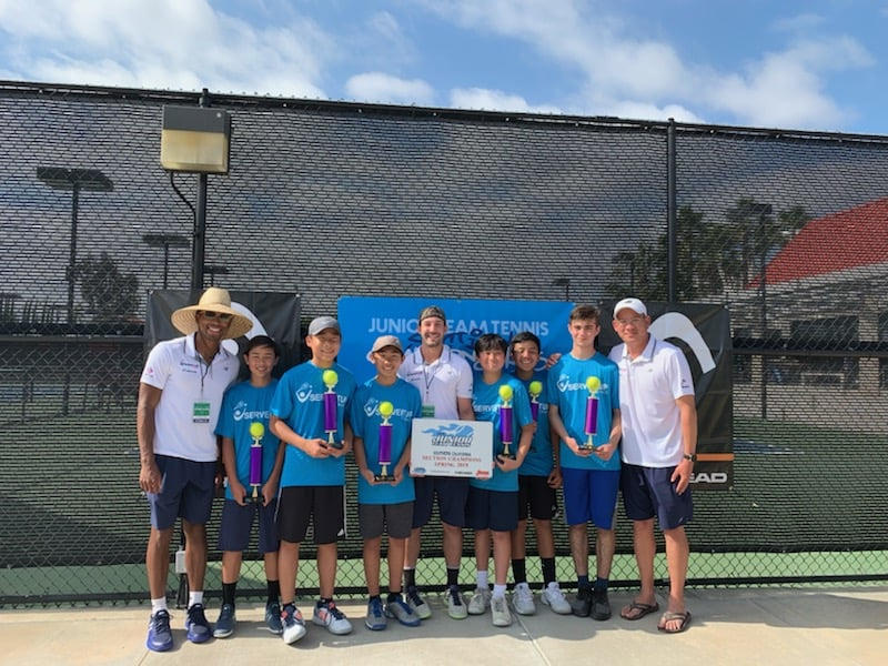 2019 SPRING SOUTHERN CALIFORNIA JUNIOR TEAM TENNIS CHAMPIONS